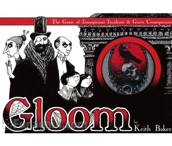 GLOOM 2ND EDITION: THE GAME OF INAUSPICIOUS INCIDENTS & GRAVE CONSEQUENCES