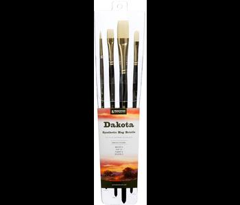 Princeton Professional 4-Brush Sets, Dakota Professional 4-Brush Set - Peggable