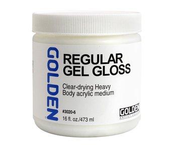 Golden Medium 16oz Regular Gel Semi-Gloss