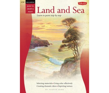 HOW TO DRAW AND PAINT LAND AND SEA