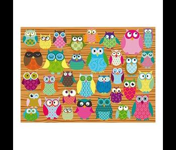 SCHMIDT PUZZLE 500: OWLS