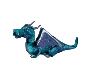 DOUGLAS CUDDLE TOY PLUSH JADE BLUE DRAGON