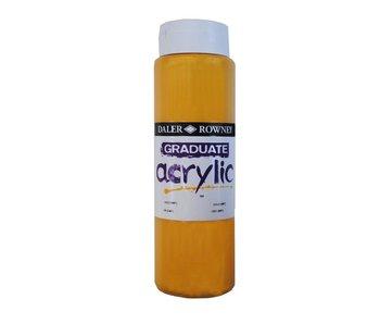 GRADUATE ACRYLIC 500ML GOLD (IMIT)