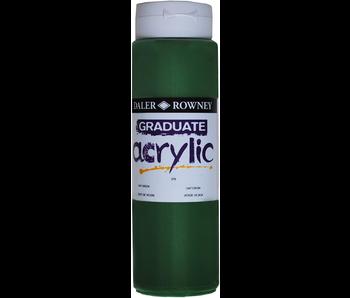 GRADUATE ACRYLIC 500ML SAP GREEN