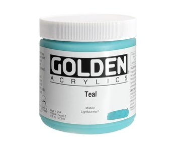 Golden 16oz Teal Heavy Body Series 3