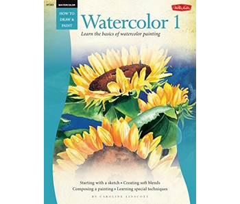 HOW TO DRAW AND PAINT WATERCOLOR 1