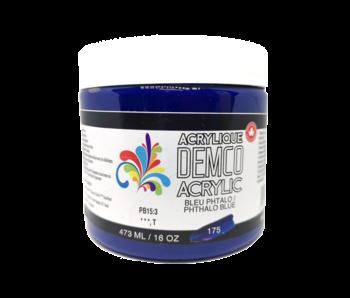 Demco 16OZ 473ML Acrylic  Phthalo Blue