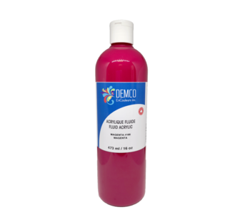 Demco 16OZ 473ML Fluid Acrylic Magenta