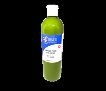Demco 16OZ 473ML Fluid Acrylic Green Gold