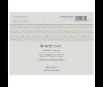 Strathmore Watercolour 500 Travel  6X8 12SH(12)