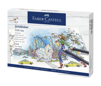 Faber Castell Goldfaber Coloured Pencil Gift Set