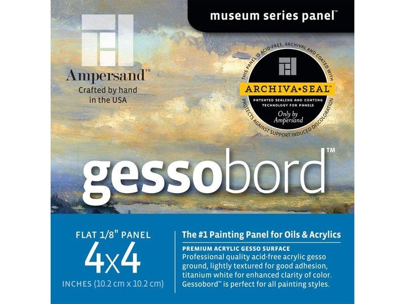 "AMPERSAND MUSEUM GESSOBORD 1/8"" 4x4 3PK"