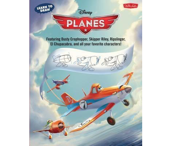 LEARN TO DRAW DISNEY PLANES