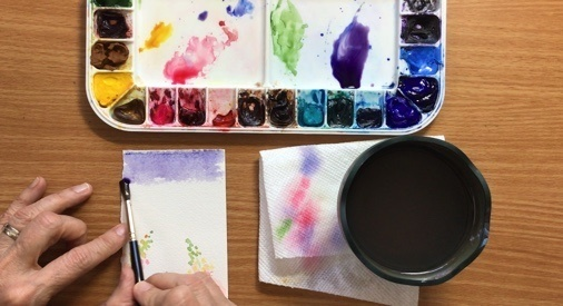 "Susanne Nason teaches us ""How to Paint Lupines in Watercolour!"""