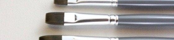 HJ Mightlon Acrylic Brushes