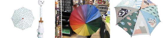 Umbrellas For Kids and Adults!