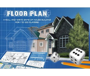 Floor Plan Roll & Write Design Game