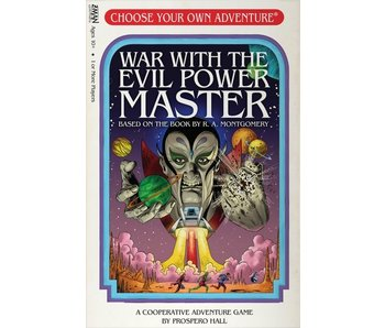 Choose Your Own Adventure Game - War with the Evil Power Master