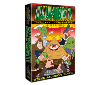 ILLUMINATI: THE GAME OF CONSPIRACY 2ND EDITION