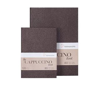 """The Cappuccino Book 120gsm 40 sheets/80 pages 5.58 x 8.27"""""""