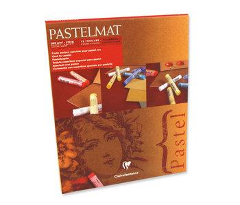 "CLAIREFONTAINE Pastelmat No 1 12 sheets 9.5x12"" 24x30cm"