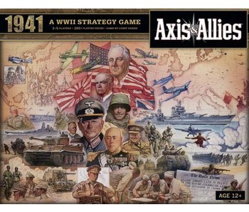 Axis & Allies: WWII Strategy Game - 1941