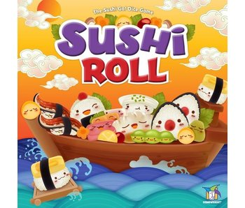 Sushi Roll - Sushi Go Dice Game