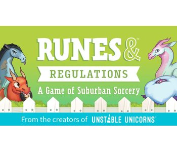 RUNES & REGULATIONS CARD GAME