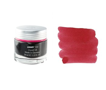 LAMY CRYSTAL INK 30ML: RUBY