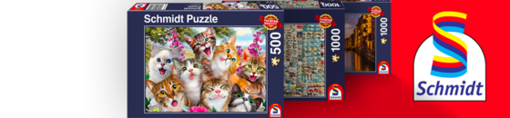 Schmidt Puzzle Sale: Buy One get One 1/2 Off! Online Only