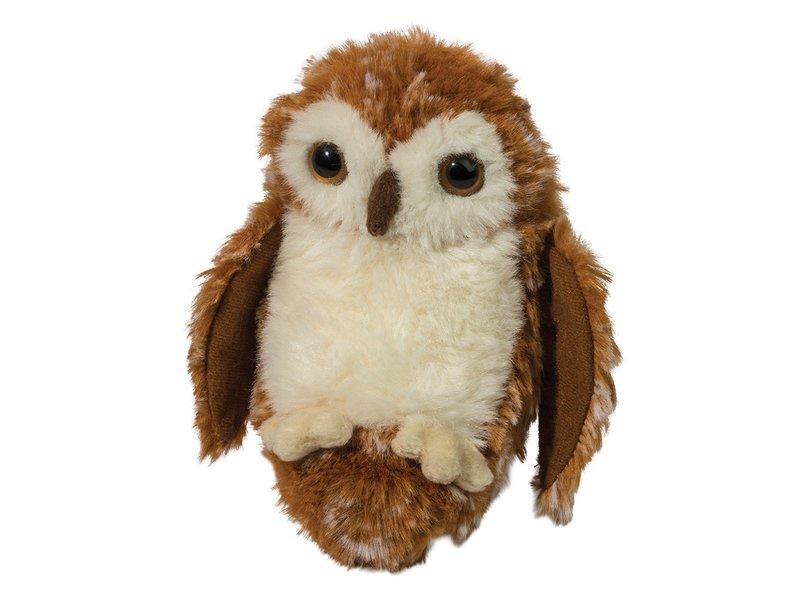 DOUGLAS CUDDLE TOY PLUSH LIL' HANDFUL Owl