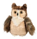 DOUGLAS CUDDLE TOY PLUSH RUCKER HORNED OWL SMALL