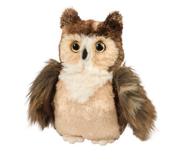 DOUGLAS CUDDLE TOY PLUSH RUCKER HORNED OWL SMALL
