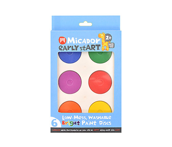 Micador Early Start Low Mess Washable Paint Discs