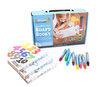 Micador Colourtivities Board Books Kit