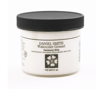 DANIEL SMITH MEDIUM 4OZ WATERCOLOUR GROUND PEARLESCENT WHITE