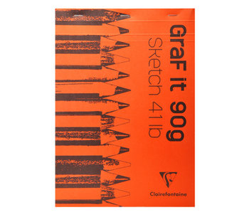 CLAIRE FONTAINE GRAF IT 90G DOT GRID PAD 6x8