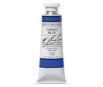 M. GRAHAM ARTIST OIL 37ML COBALT BLUE