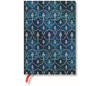 PaperBlanks Blue Velvet Midi Unlined