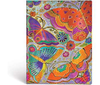 PAPERBLANK JOURNAL FLUTTERBYES ULTRA UNLINED