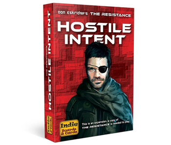 THE RESISTANCE 3RD EDITION GAME EXP - HOSTILE INTENT