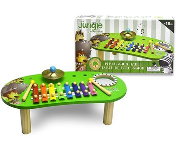 IT'S A JUNGLE IN MY ROOM! PERCUSSION TABLE