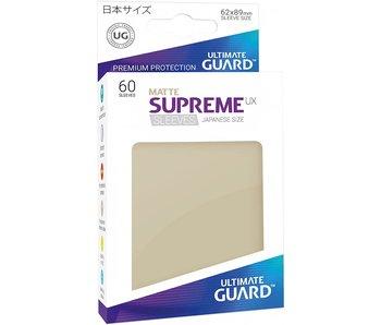 ULTIMATE GUARD SUPREME UX STANDARD SIZE CARD SLEEVES 50PK MATTE SAND