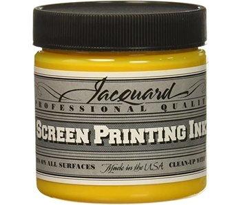 JACQUARD PROFESSIONAL SCREEN PRINTING INK 4OZ PROCESS YELLOW