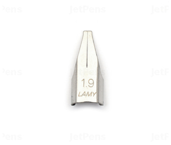 LAMY STEEL NIB INDIVIDUAL 1.9 MM CALLIGRAPHY