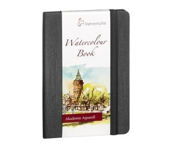 """Hahnemuhle Watercolour Book 200gsm Hardbound 30 sheet/60 page book, portrait 5.83x8.27"""""""