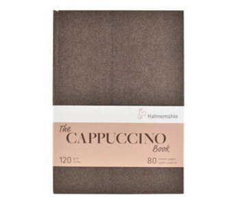The Cappuccino Book 120gsm 40 sheets/80 pages 8.27 x11.69