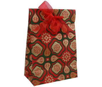 CLAIRE FONTAINE GIFT BAG LARGE MANALI FLOWERS