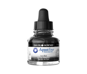 AQUAFINE INK 29.5ML IVORY BLACK