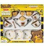 HONEY BEAR PORCELAIN TEA SET